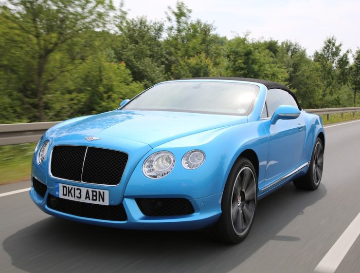 FYLE Bentley Continental GTC V8 85