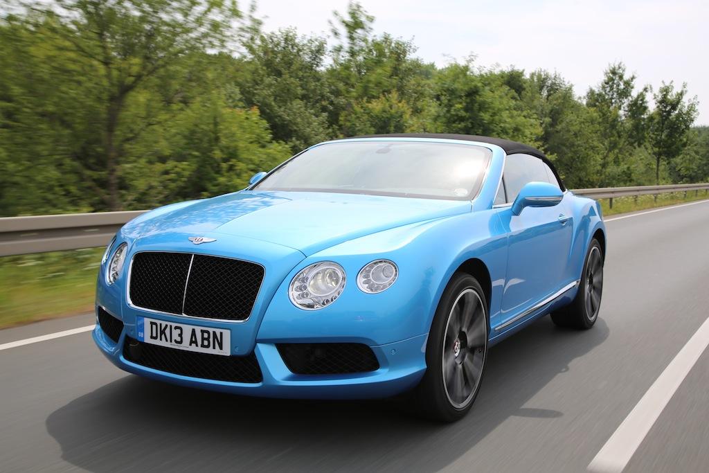 FYLE Bentley Continental GTC V8 85