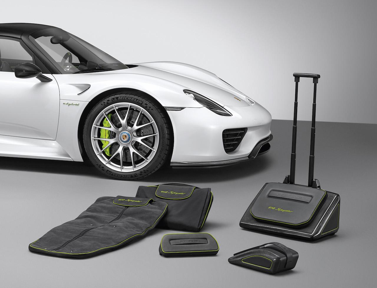 Porsche 918 Kofferset