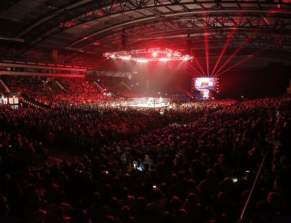 FYLE WWE Chef Vince McMahon Leipzig Arena