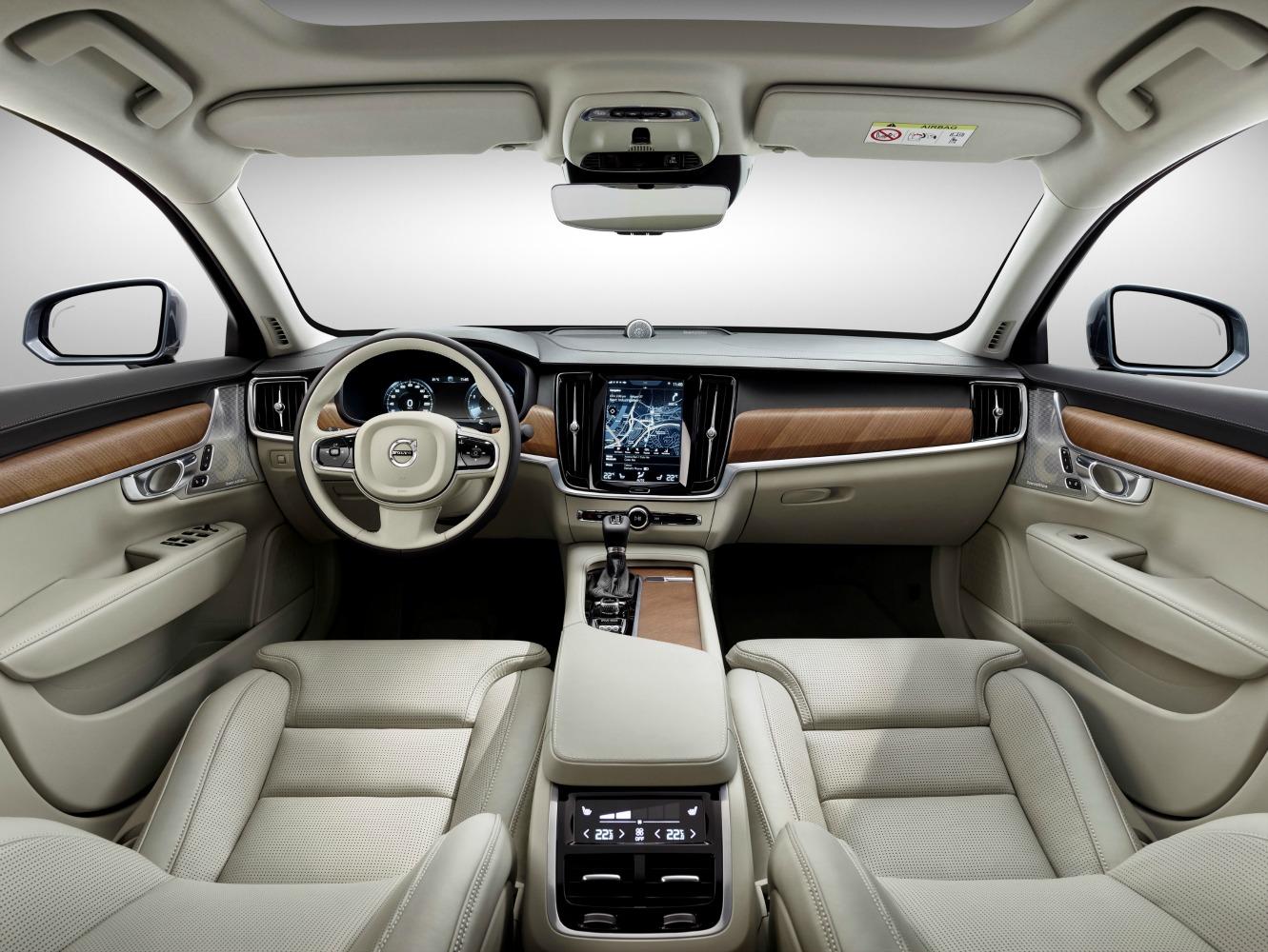 FYLE Volvo S90 Interior Blond