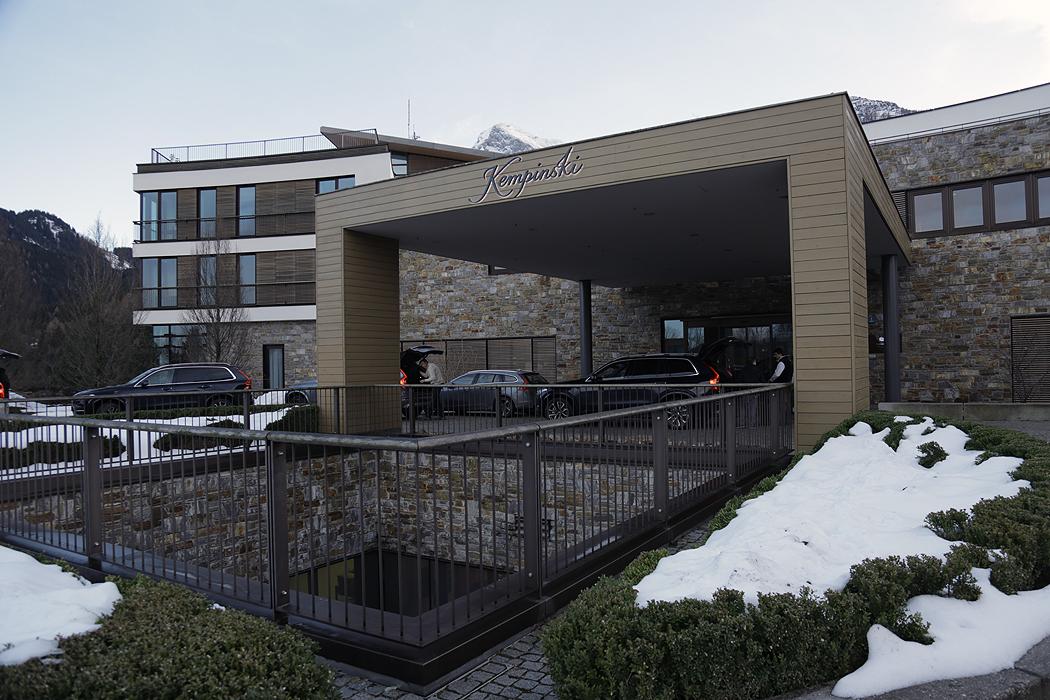 FYLE Kempinski Eingang
