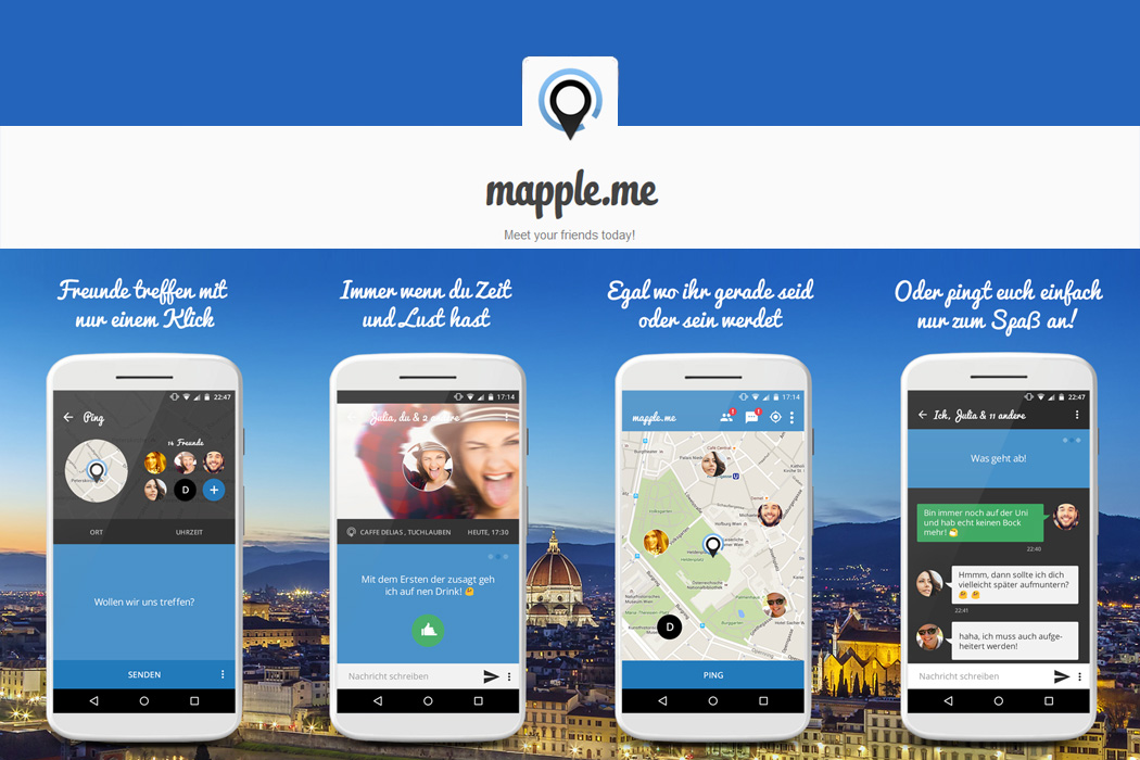 FYLE Mapple me Playstore Slides