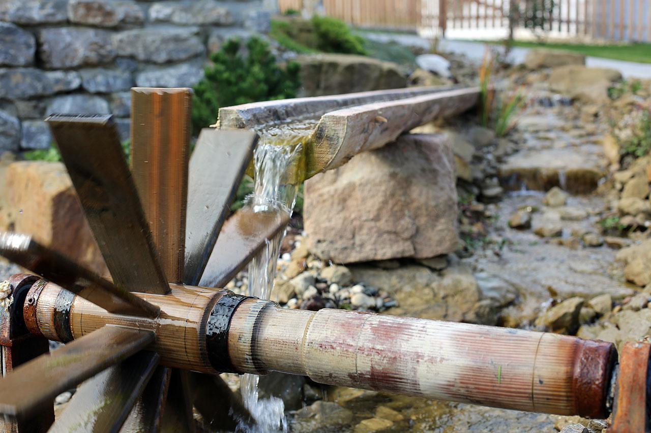 FYLE sDörfle Wasserrad