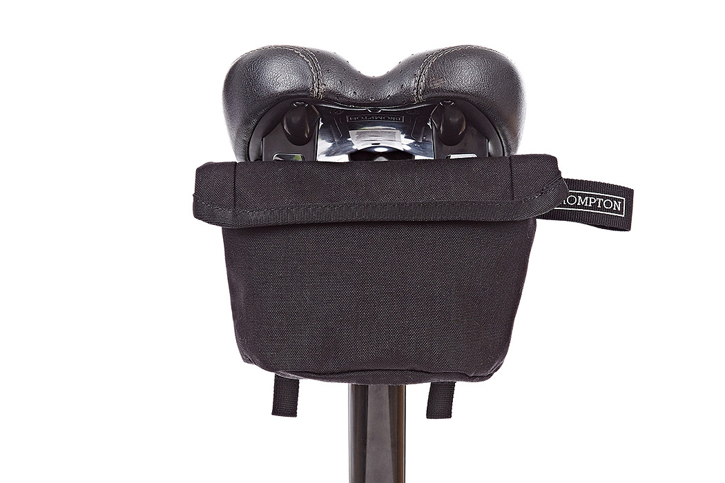 FYLE Brompton 2016 Saddle Pouch Black