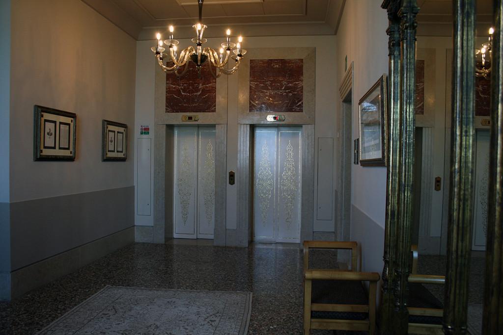 FYLE Kempinski Venedig Aufzug