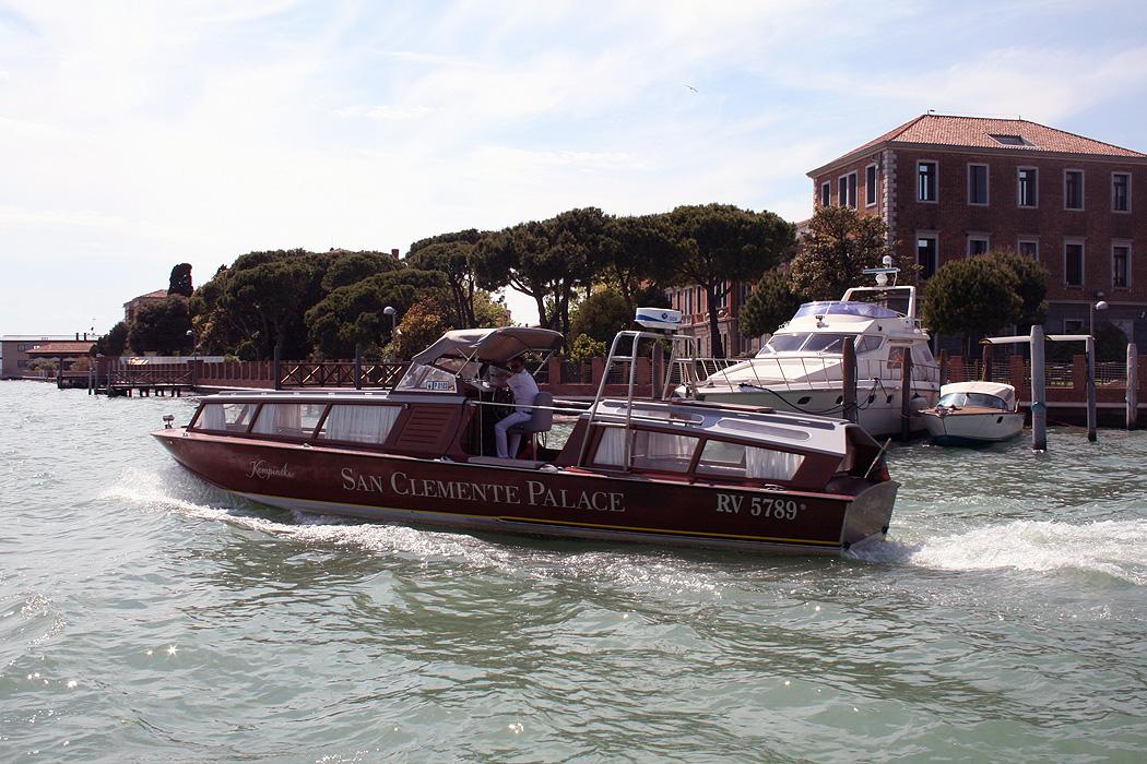 FYLE Kempinski Venedig Boot