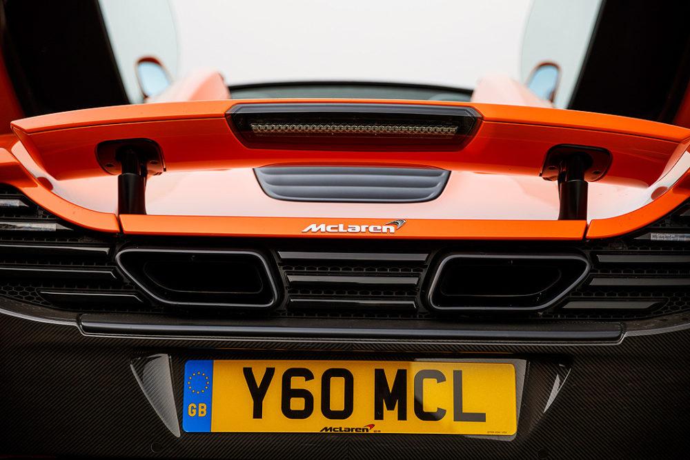 FYLE McLaren 650S Spider Heck