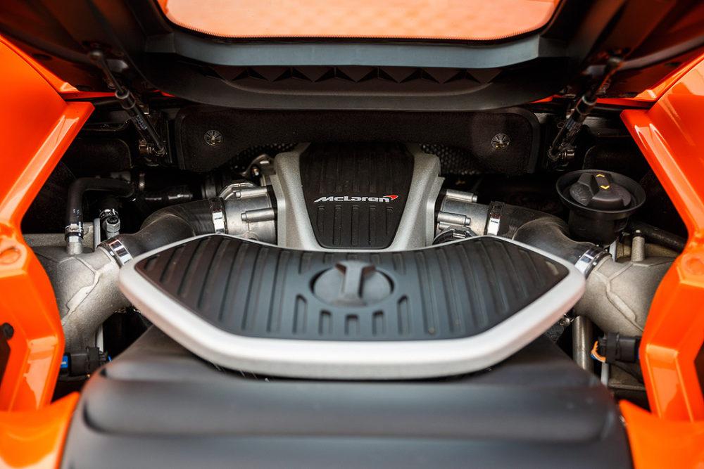 FYLE McLaren 650S Spider Motor