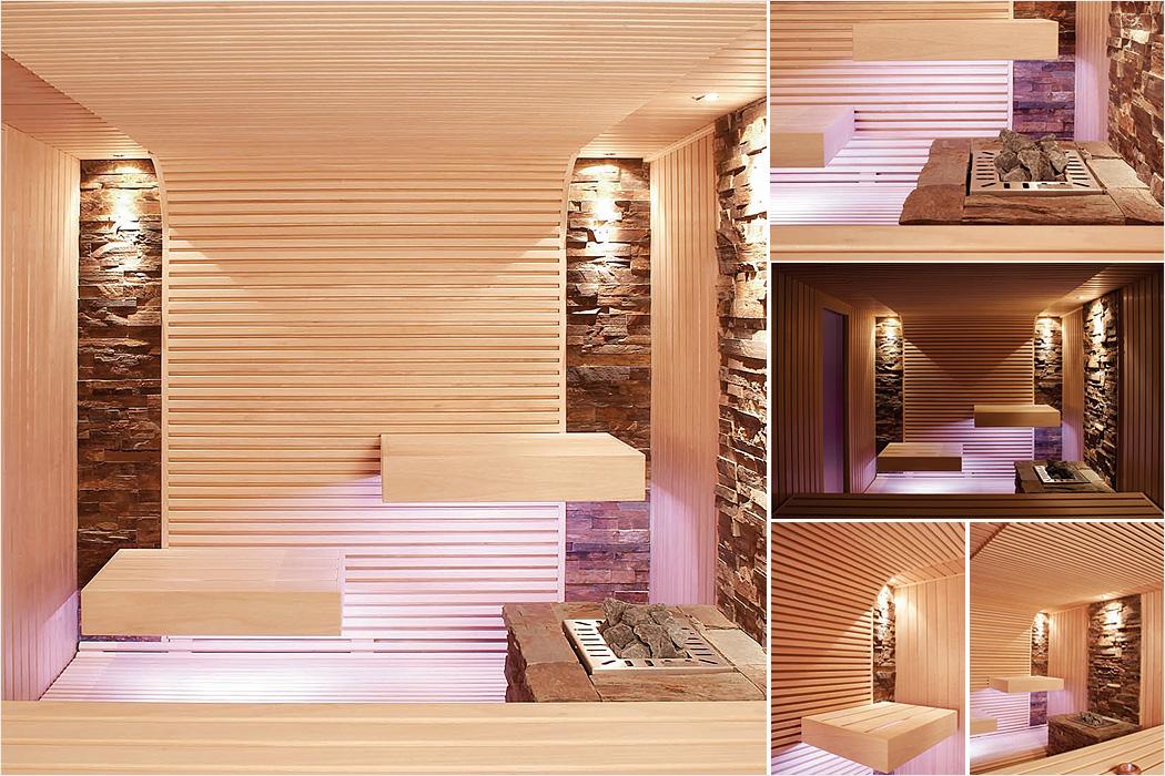 puristische sauna eine wundervolle symbiose aus natur und design. Black Bedroom Furniture Sets. Home Design Ideas