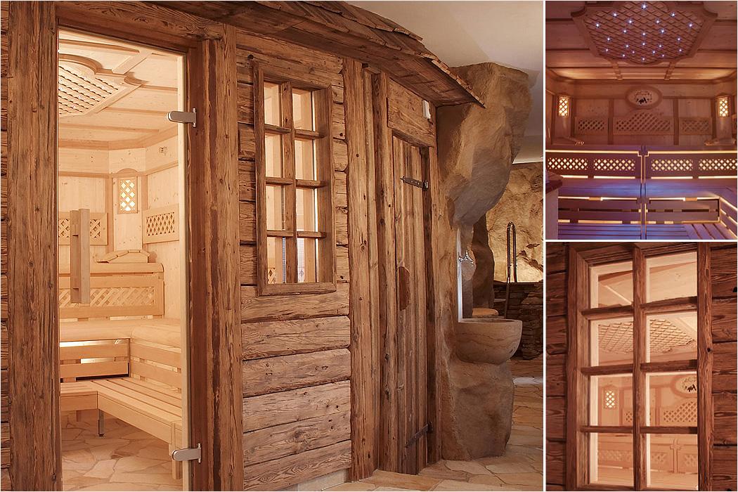 romantische sauna eine symphonie f r die sinne natur pur. Black Bedroom Furniture Sets. Home Design Ideas