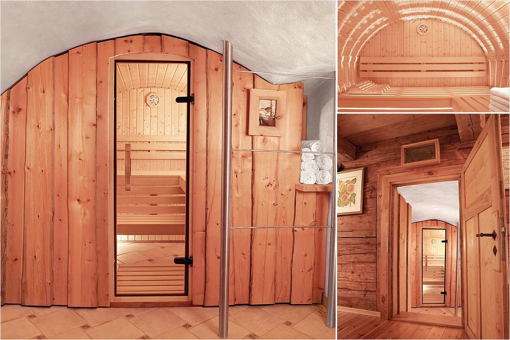 FYLE Wellness Erdmann Saunabau rustikal