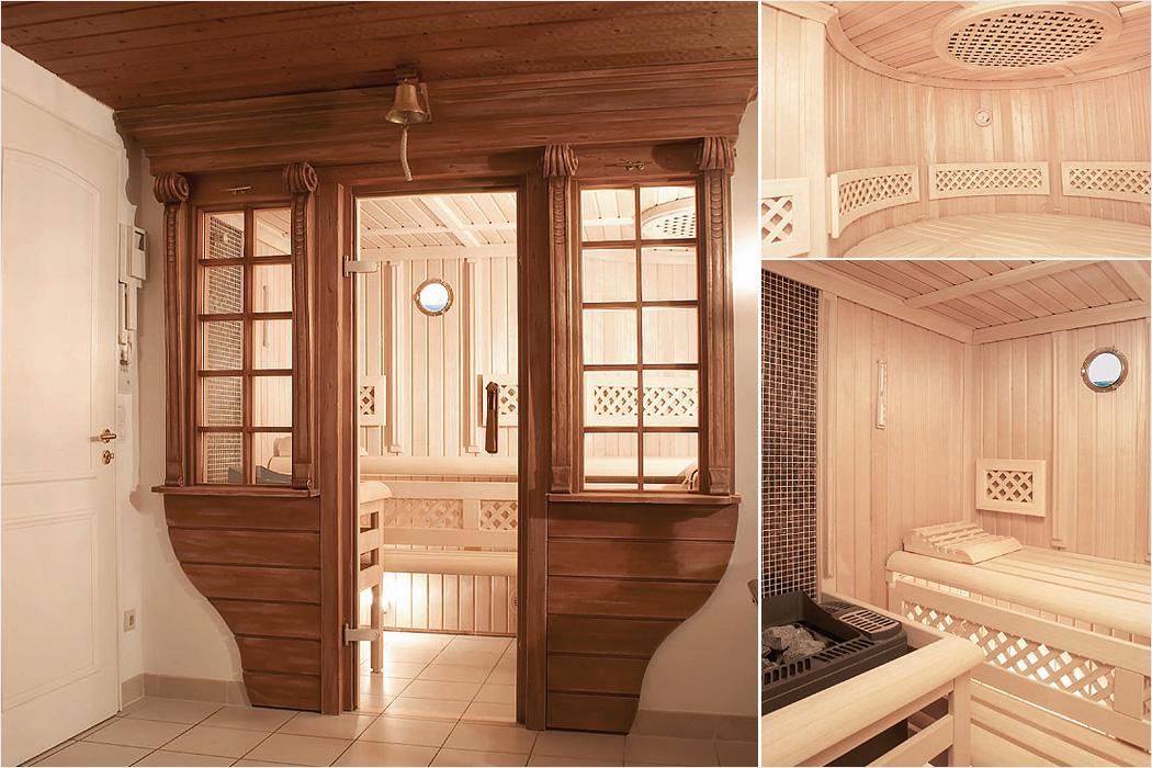 FYLE Wellness Erdmann individuelle Sauna