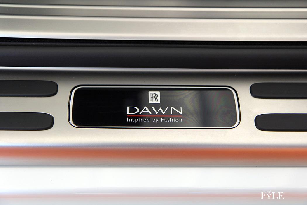 FYLE Rolls-Royce Dawn Einstieg Sonderedition