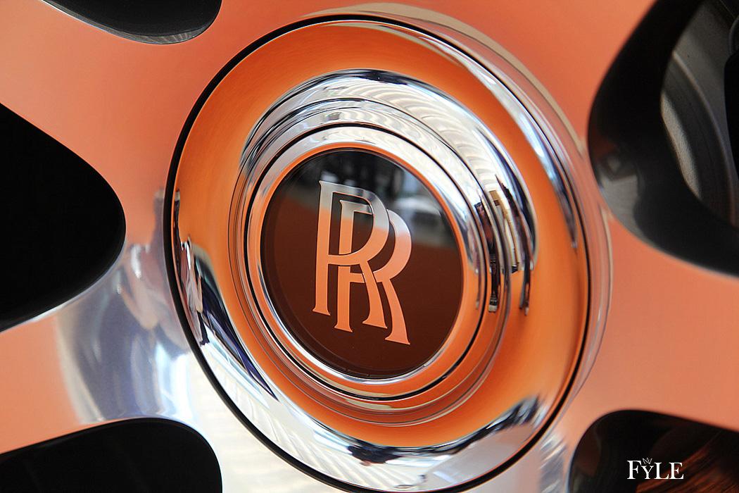FYLE Rolls-Royce Dawn Emblem Radnabe