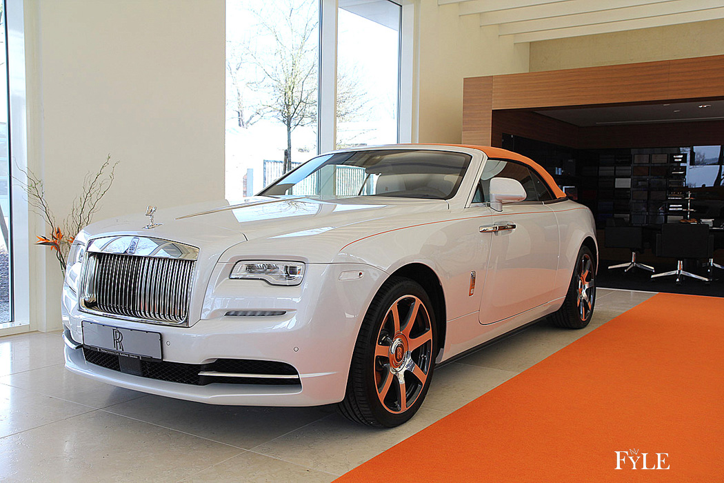 FYLE Rolls-Royce Dawn Farbspiel Sonderedition
