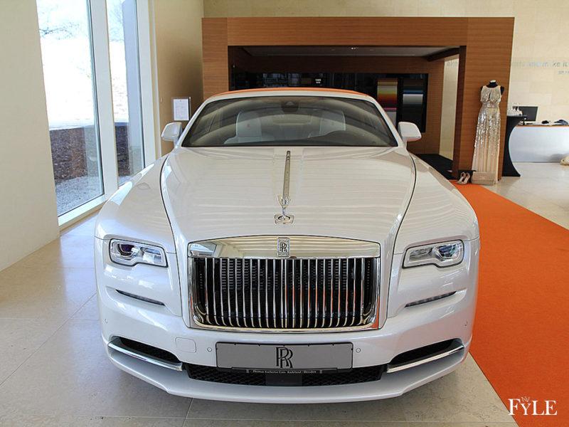 FYLE Rolls-Royce Dawn Frontansicht