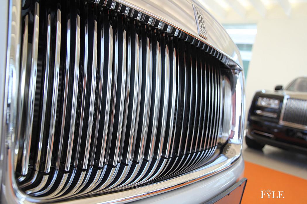 FYLE Rolls-Royce Dawn Frontgrill handgelötet