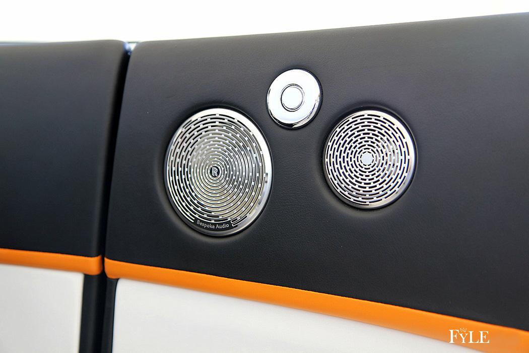 FYLE Rolls-Royce Dawn High-End-Lautsprecher Edelmetallabdeckungen