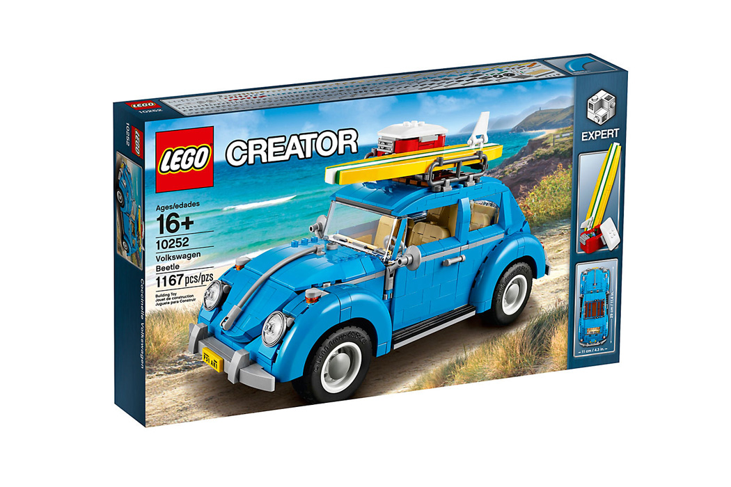 FYLE LEGO Creator VW Kaefer Wunschzettel