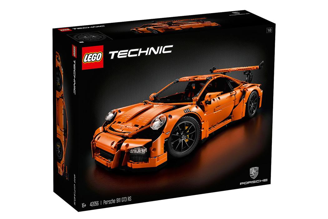 FYLE LEGO Technic Wunschzettel Porsche GT3 RS