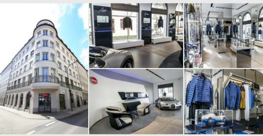 Fyle Bugatti Showroom Boutique