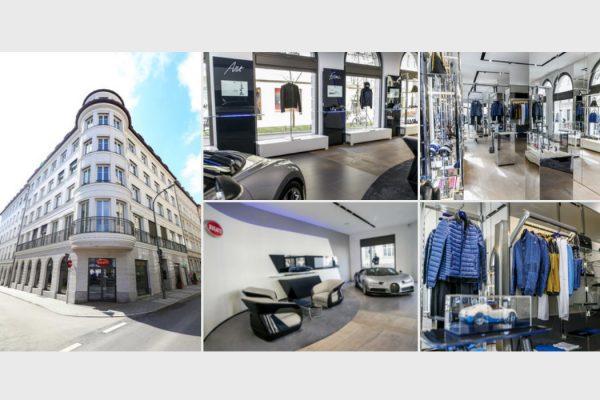 Fyle Bugatti Showroom Boutique