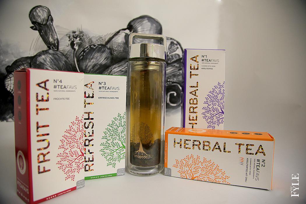 FYLE TEAFAVS amapodo Teeglas Herbal Tea