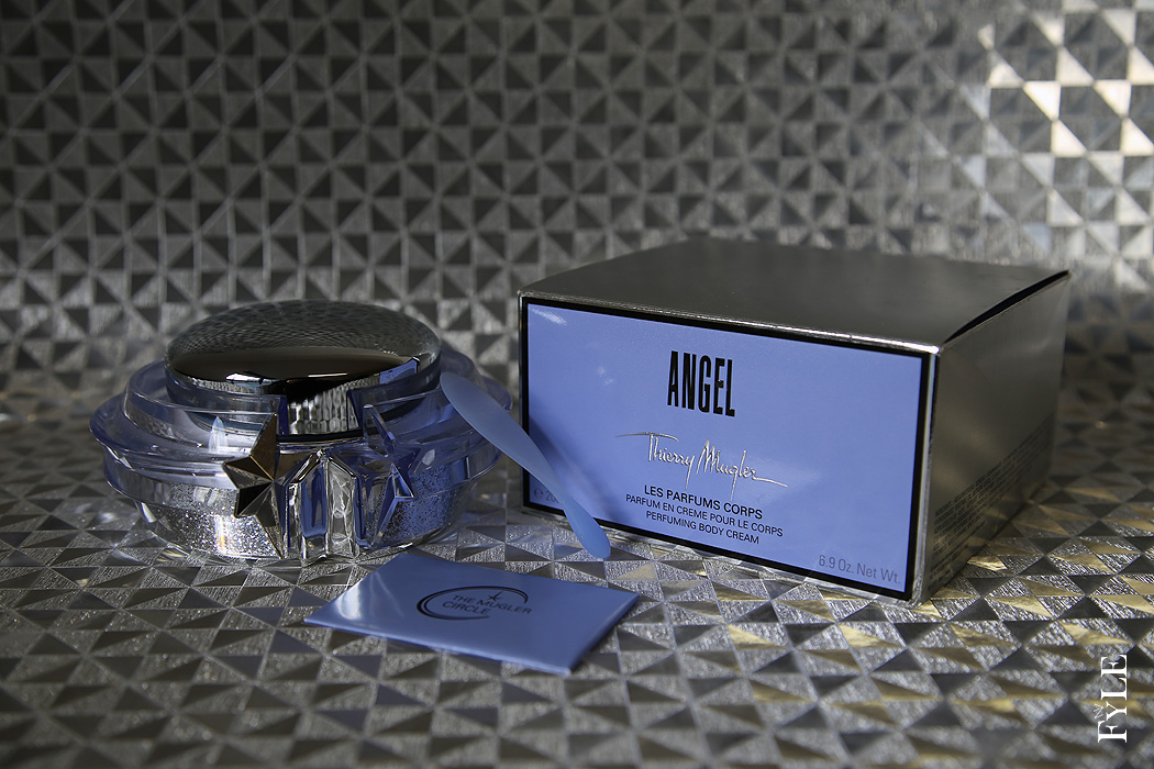 FYLE Thierry Mugler Bodycream Angel Glastiegel Verpackung