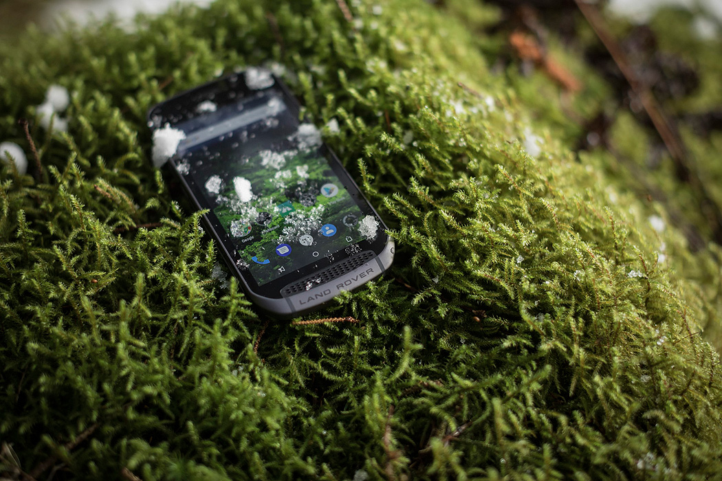 Land Rover Explore Smartphone Outdoor
