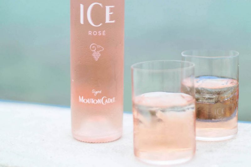 Mouton ICE Rosewein Sommergetränk