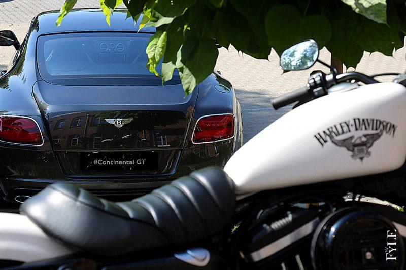 Harley trifft Bentley