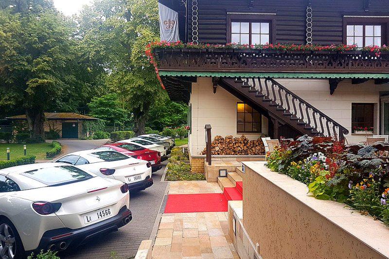 Ferrari Portofino Bayrisches Haus