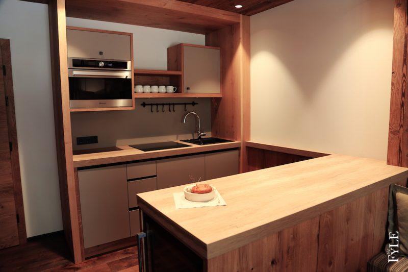Kaiserlodge Küche Essbereich
