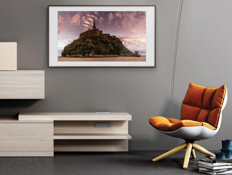 Samsung The Frame Wohnzimmer