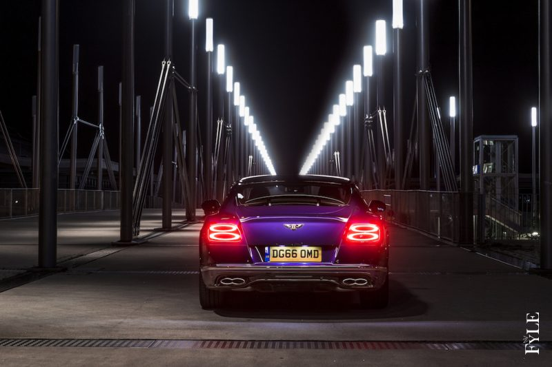Bentley Continental GT V8 S heck
