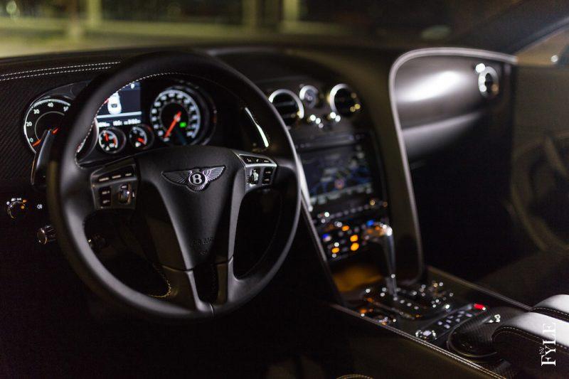 Bentley Continental GT V8 S interieur