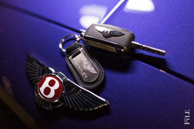 Bentley Continental GT V8 S schlüssel