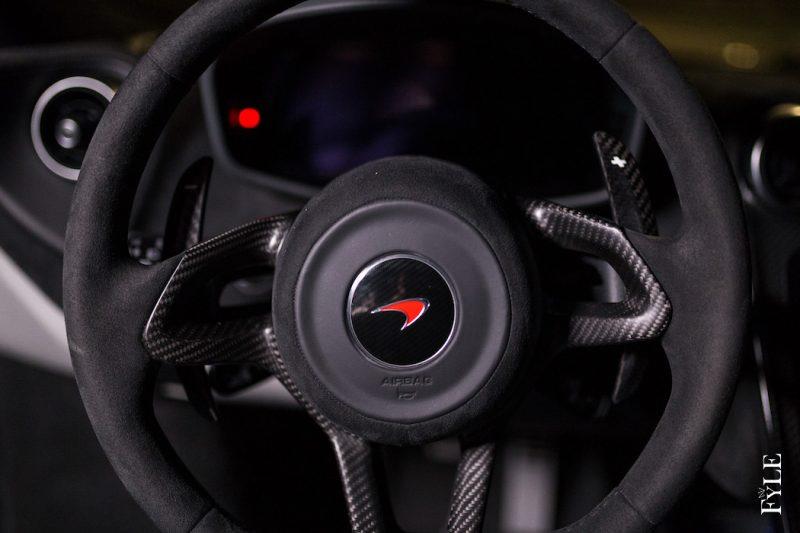 McLaren 540C Lenkrad