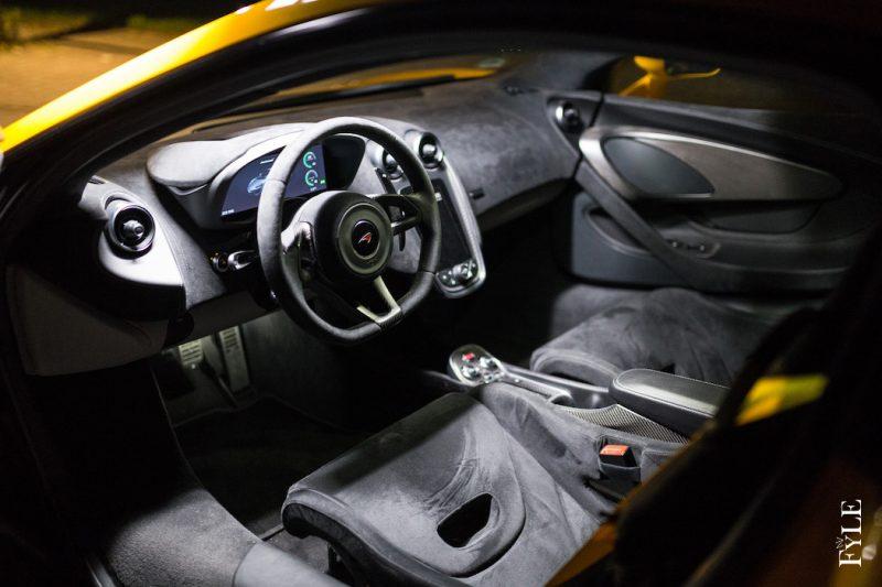 McLaren 540C Interieur