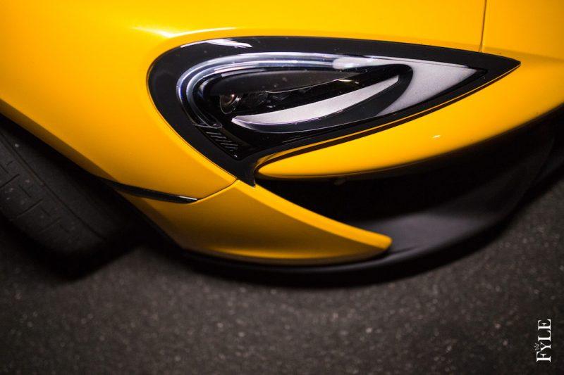 McLaren 540C Licht