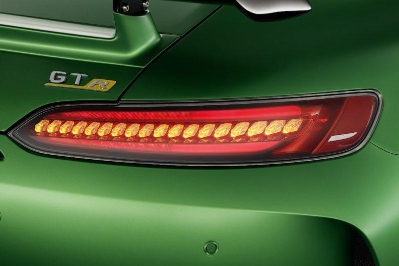Mercedes-AMG GT R Hecklicht
