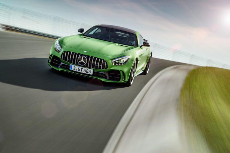 Mercedes-AMG GT R Rennstrecke