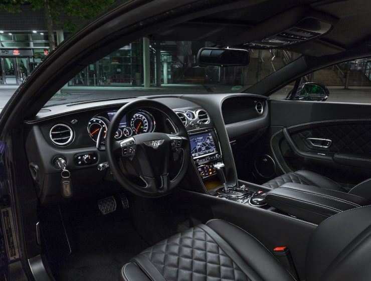 Interieur Bentley Continental GT V8 S