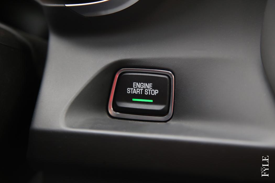 Chevrolet Camaro Startknopf