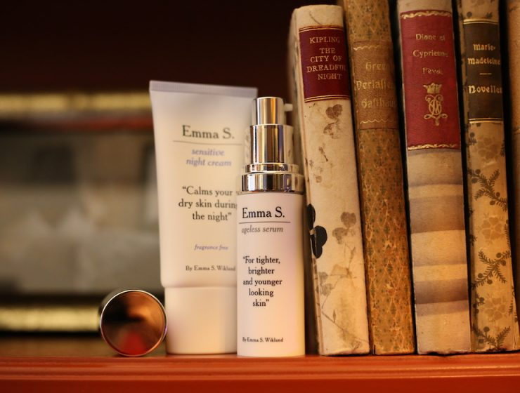 Emma S. Ageless Serum sensitive night cream