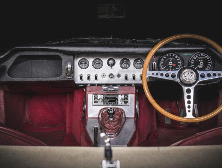 Jaguar Classic Radio DAB+ infotainment