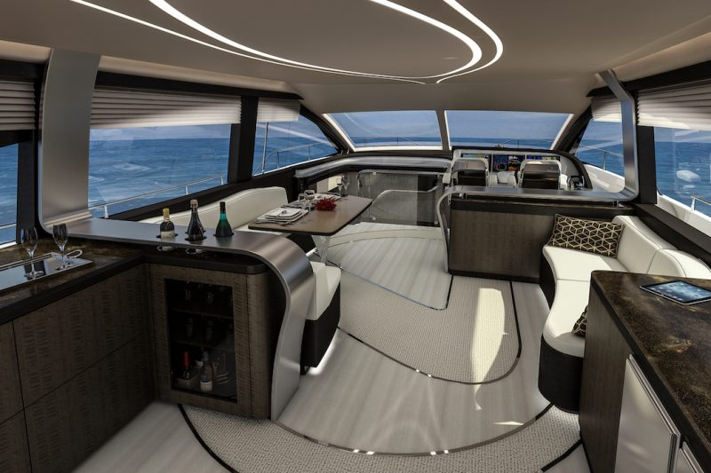 Lexus LY 650 Luxusyacht interieur