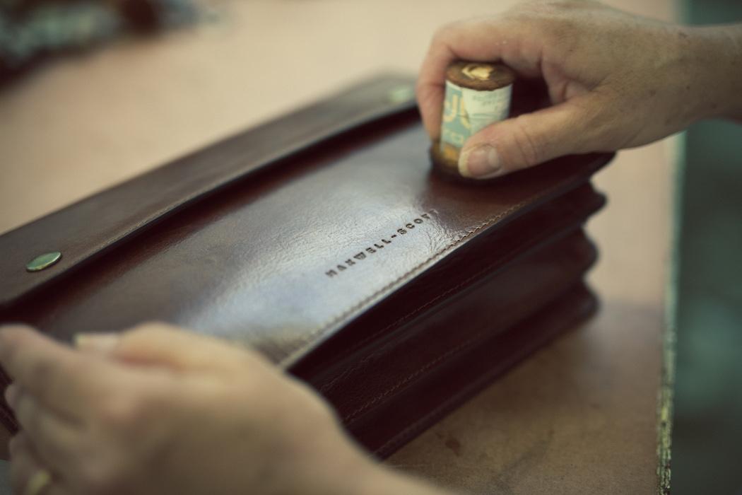 Maxwell-Scott Taschenherstellung