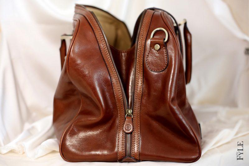 Reisetasche Leder Maxwell-Scott